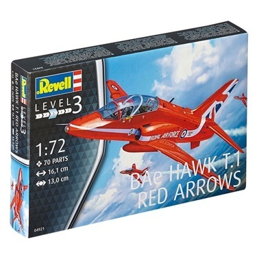 Revell Revell Maket  Bae Hawk  Red Arrows Renkli